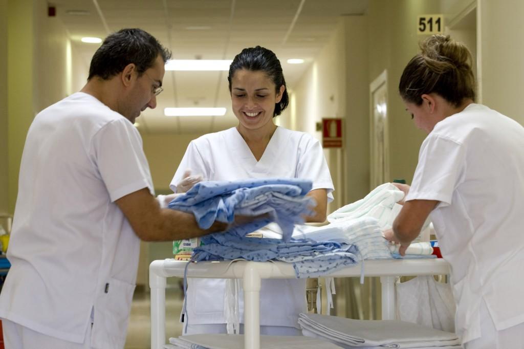 Equipo de Enfermería del Hospital San Juan de Dios Tenerife 2